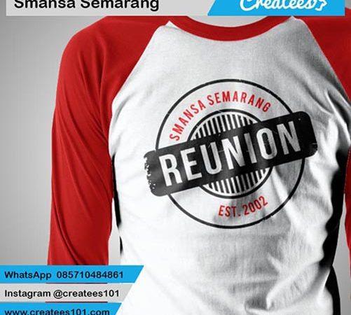 Kaos Reuni Smansa Semarang