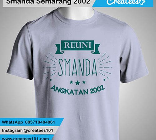 Kaos Reuni Smanda Semarang 2002