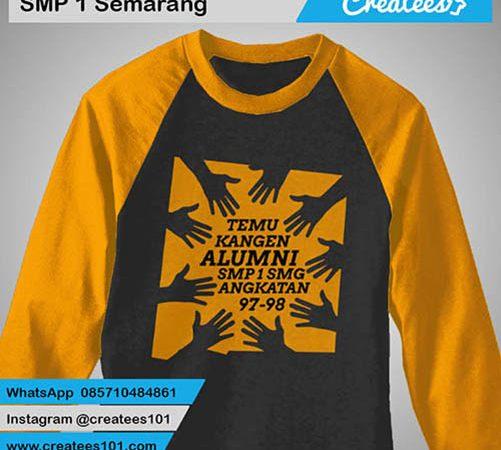 Kaos Reuni SMP 1 Semarang