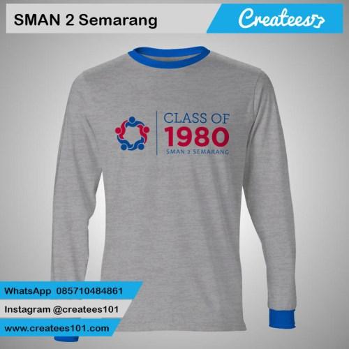 Kaos Reuni SMAN 2 Semarang