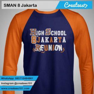 Kaos Reuni SMAN 8 Jakarta