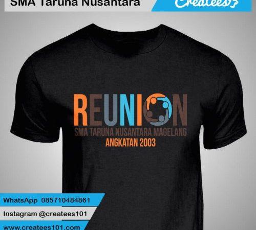 Kaos Reuni SMA Taruna Nusantara