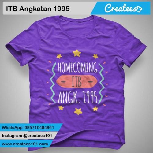 Kaos Reuni ITB Angkatan 1995