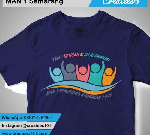 Kaos Reuni MAN 1 Semarang