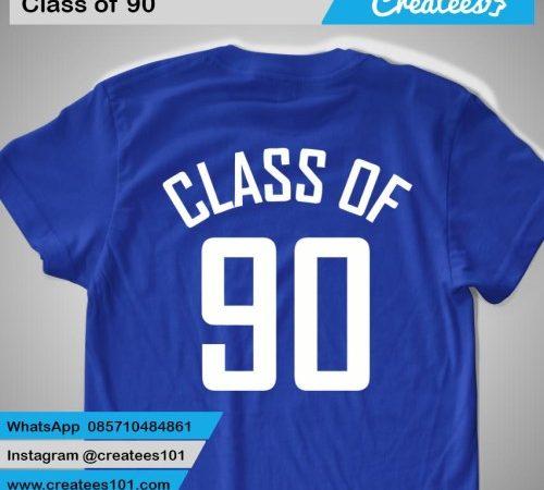 Kaos Reuni Class of 90