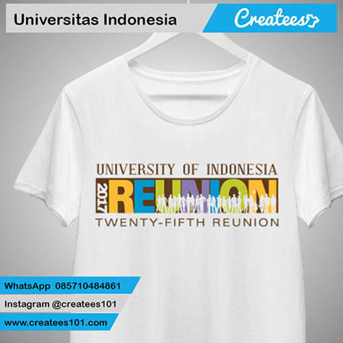 Kaos Reuni Universitas Indonesia