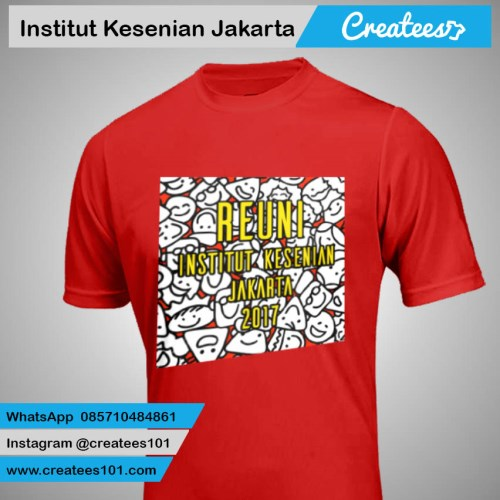 Kaos Reuni Institut Kesenian Jakarta